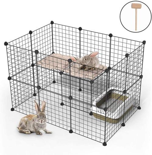 Enclos lapin facile à monter
