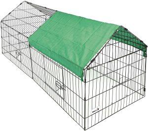 enclos pour lapin geant interieur et exterieur