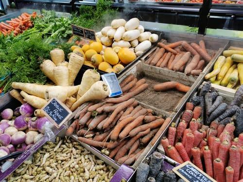 Légumes comestibles lapin nain